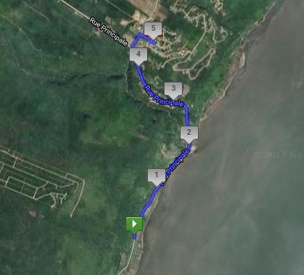 5 Km course marche