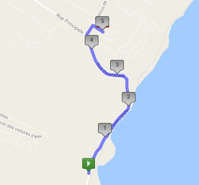 5 km marche plan